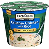 Bear Creek Country Kitchens Soup Bowl, Creamy Chicken with Rice, 1.9 Ounce (Pack of 6)