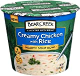 review of bear creek creamy chicken with rice hearty soup bowl Dried Soup Mix Bear Creek Foods