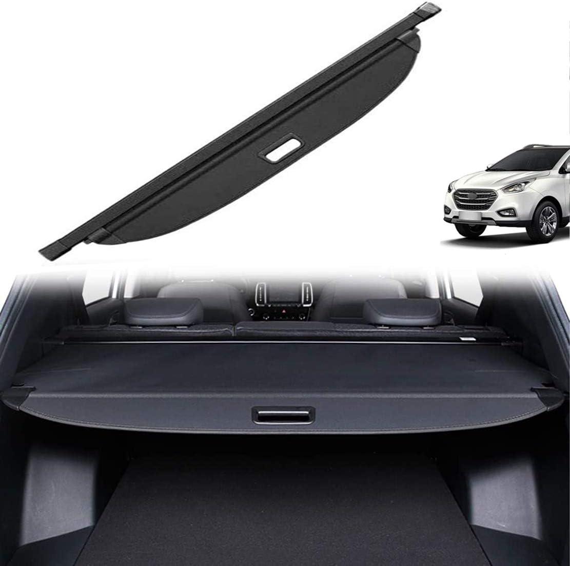 MNBX Auto Cargo Cover f/ür Hyundai IX35 2010-2017 Fit Laderaumabdeckung Kofferraum Schutz Abdeckung Boot Load Shielding Security Panel Rollo