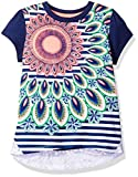 Desigual Toddler Girls' Ts_halifax T-Shirt, Navy, 5/6