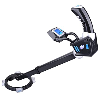 Amazon.com: kuman KW33 Metal Detector with Adjustable LCD Digital Display: Garden & Outdoor