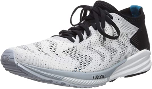 New Balance FuelCell Impulse, Zapatillas de Running para Hombre, Blanco (White/Deep Ozone Blue/Black Wg), 45 EU: Amazon.es: Zapatos y complementos