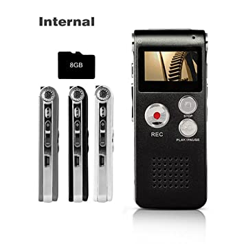 A-b Wiederholen Diktiergerät Tragbare Usb Lade Mikrofon Noise Vorträge Voice Recorder Mini Sound Audio Mp3 Player 8 Gb Tragbares Audio & Video