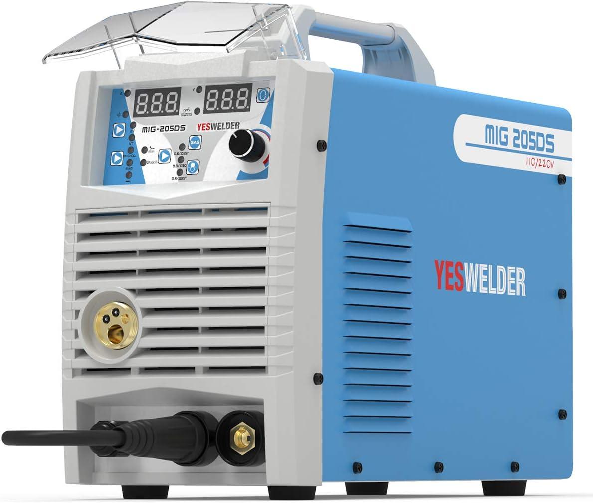 YESWELDER Digital MIG-205DS MIG Welder