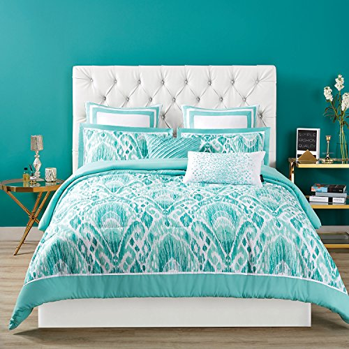 Christian Siriano Duvet Set with Cover and Shams, Full/Queen, Capri by Christian Siriano