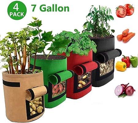 ECHG 4 bolsas de cultivo de patatas
