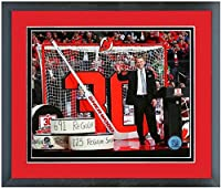 "Martin Brodeur New Jersey Devils NHL Retirement Photo (Size: 12.5"" x 15.5"") Framed"