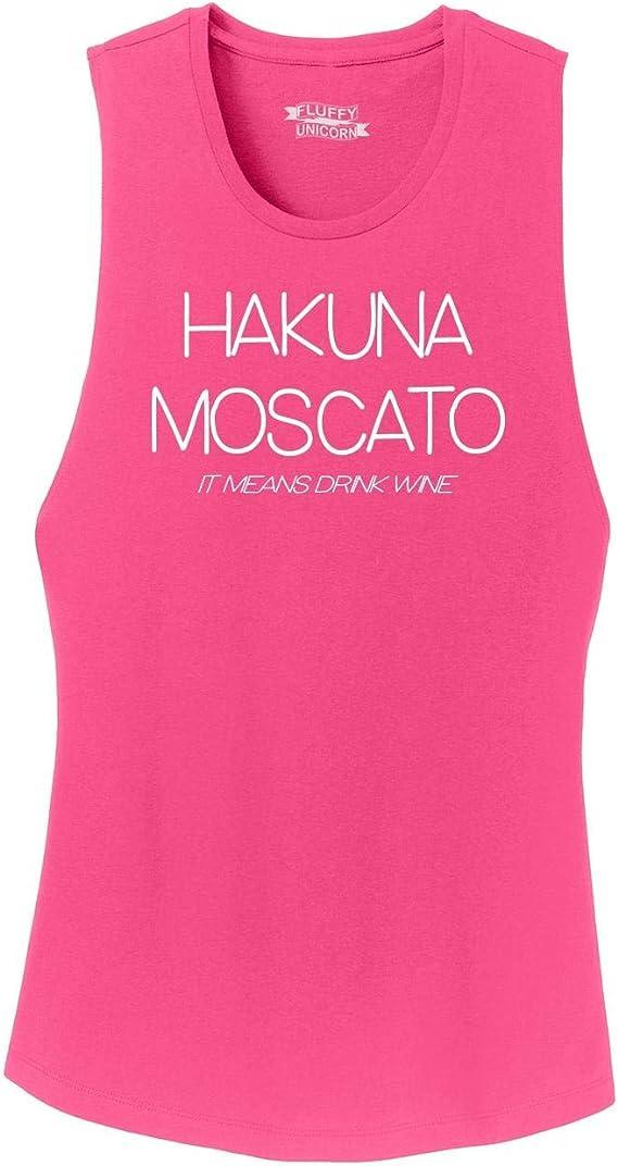 Comical Shirt Ladies Hakuna Moscato Festival Tank