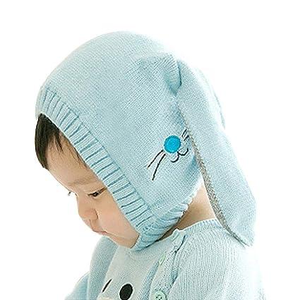 AOLVO Bambino Caldo Cappello di Maglia 8a740b16981f