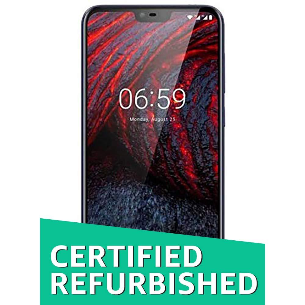 (Certified REFURBISHED) Nokia 6.1 Plus TA-1083 DS (Blue, 64GB)