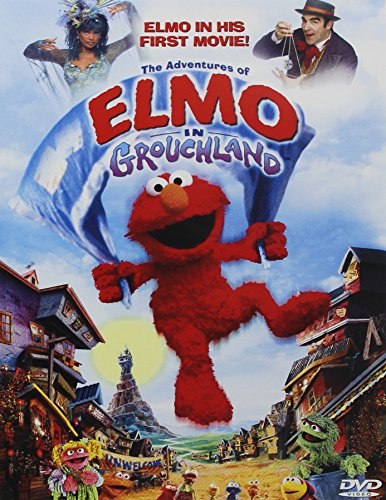 The Adventures of Elmo in Grouchland DVD (New Elmo Dvd)