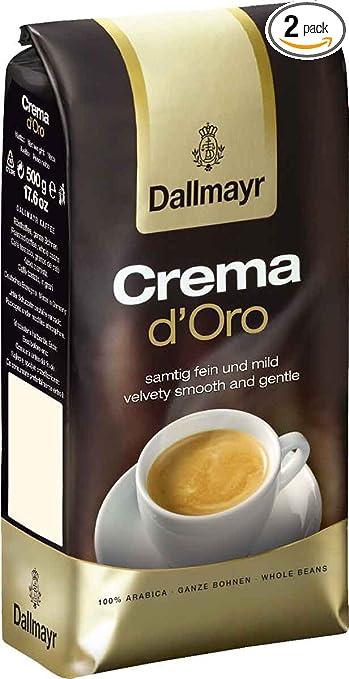 9b8ef945e4f Amazon.com : Dallmayr Crema d'Oro Whole Bean Coffee, 17.6 Ounce ...