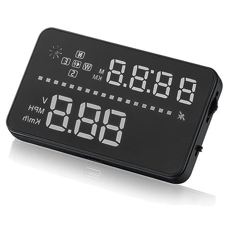 iTimo - Velocímetro digital para coche con pantalla de 8,9 cm para ...