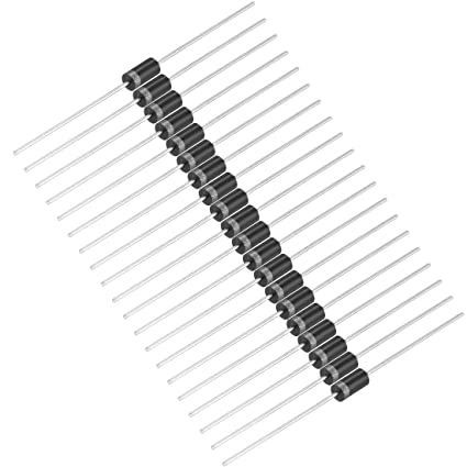uxcell 1N4001 Rectifier Diode 1A 50V Axial Electronic Silicon Diodes 30pcs
