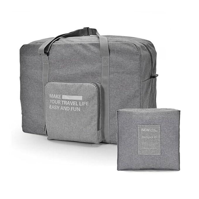 iLotusBAG Travel Foldable Duffel Bag for Women Men 996152fde923a