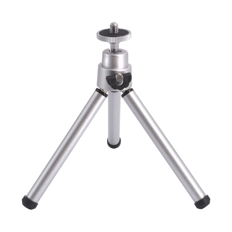 アルミコンパクト三脚 Fdorlaカメラ三脚 小型ボールヘッド軽量三脚一脚 単眼鏡用 B07MW3SSP2