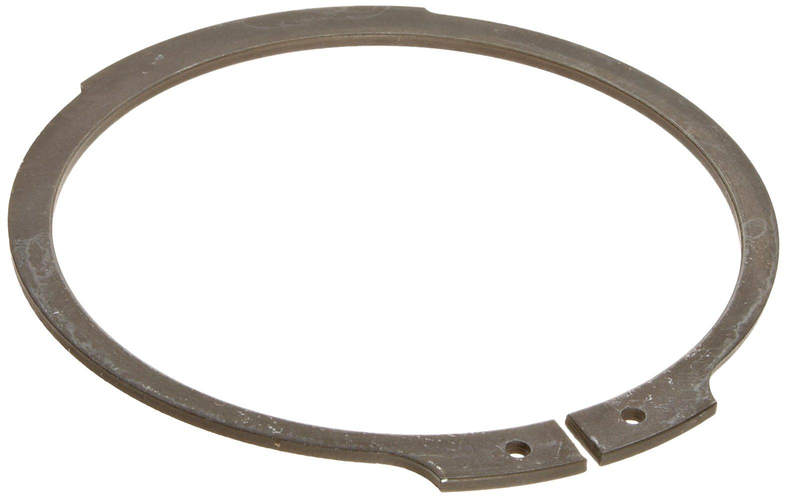 Standard External Retaining Ring, Tapered Section, Axial Assembly, 1060-1090 Carbon Steel, Phosphate Finish, 2-3/8'' Shaft Diameter, 0.078'' Thick, Made in US (Pack of 5)