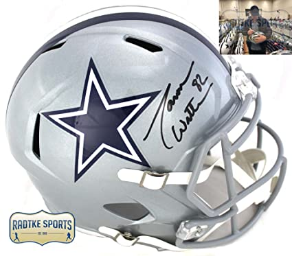 dd3e4af5e Image Unavailable. Image not available for. Color  Jason Witten  Autographed Signed Dallas Cowboys Riddell Speed NFL Helmet