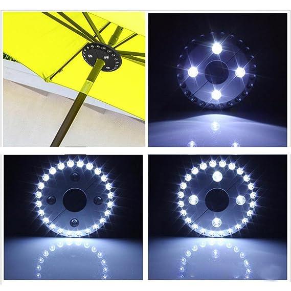 Amazon Com Botrong Patio Umbrella Light Cordless 28 Led Lights