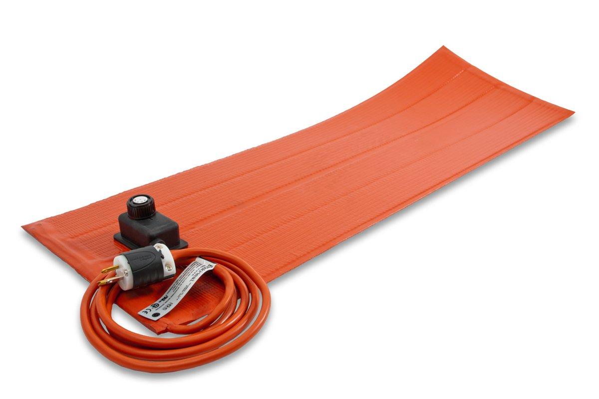 BriskHeat SRP06121ADJ Heating Blankets with Control (SRL-ADJ/SRP-ADJ), Silicone Rubber