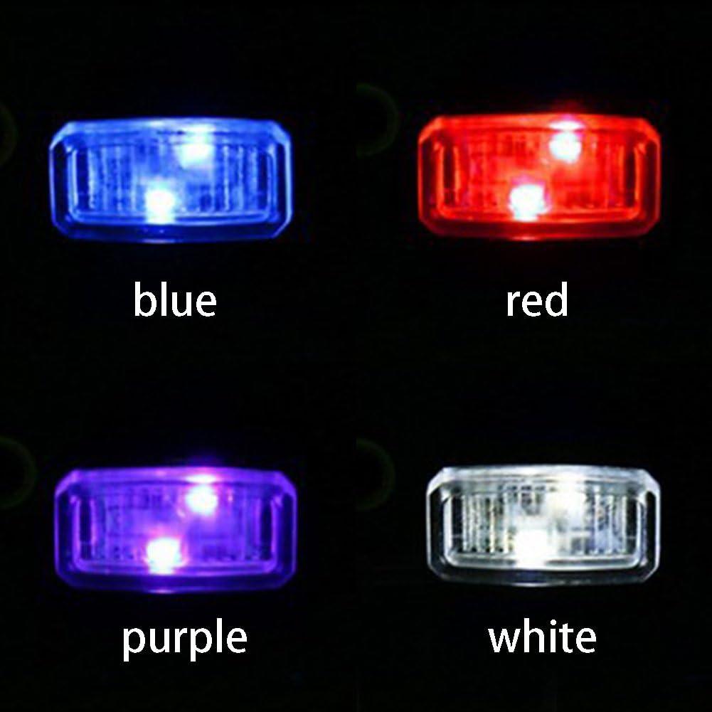 Woopower Car USB Atmosph/ère lumi/ère Mini USB LED Allume-Cigare lumi/ères d/écoratives Lampe sans Fil de Voiture Int/érieur lumi/ère Lampe /à Pied