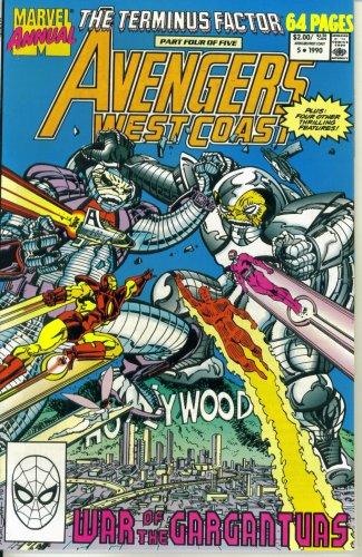Price comparison product image Avengers West Coast Annual #5 : When Titans Trash (The Terminus Factor - Marvel Comics)