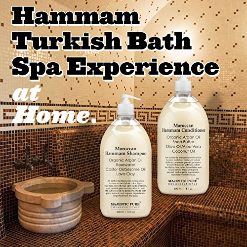 187 Moroccan Hammam Shampoo And Conditioner Set From