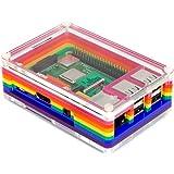 Pibow 3 B+ (Raspberry Pi 3 B+, 3, 2) (Rainbow)