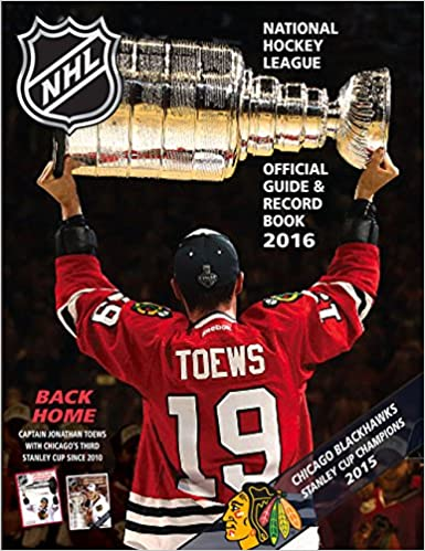 National Hockey League Official Guide Record Book Amazon Co Uk