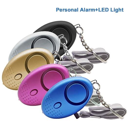 Jian Ya Na 5 paquete alarma alarma personal de seguridad ...