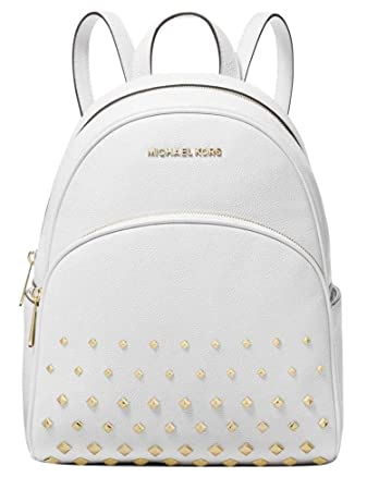 72dc1890f6cb Amazon.com | Michael Kors Abbey Medium Studded Backpack Leather ...