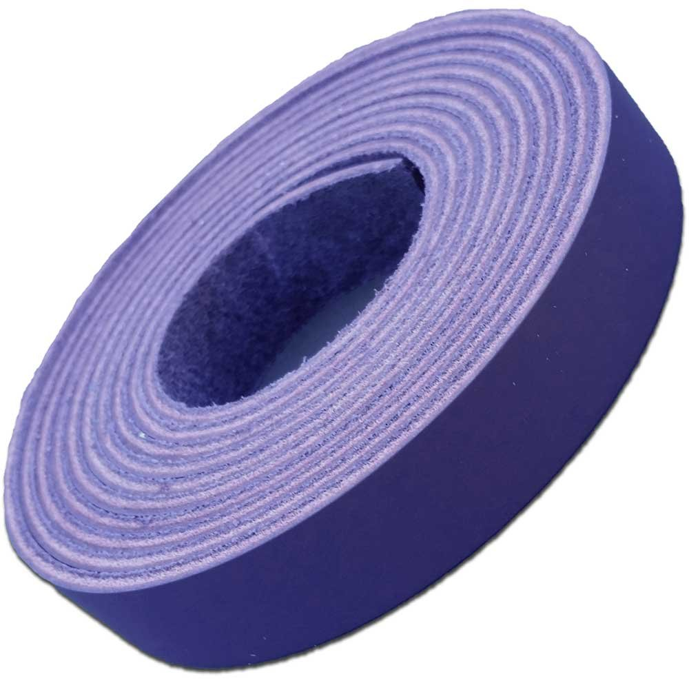 Leather Straps up to 96 Inch Long 6-7 oz. 3//4 x 72 2.4 /– 2.8 mm Latigo Leather Strips by Pitka Leather Purple Leather Strips 3//4 Inch Wide