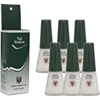 6 Bottles Quimica Alemana Nail Hardener Strengthener Polish Treatment 0.47 oz by Quimica Alemana