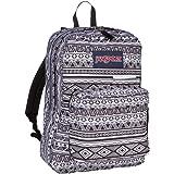 "JanSport Digibreak 2 Laptop Backpack - 15"" (Black White Jazzy Geo)"