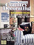 img - for Country Decorating (magazine))- Women's Day - Better Living - Winter 1990 book / textbook / text book