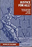Justice for All? : The Rich and the Poor in Supreme Court History (1790-1990), Galloway, Russell W., 0890894213