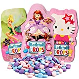 #8: Color Bath Drops for Kids Super Set-- 80 Bath Tablets (10 Individually Wrapped Packs Featuring Disney Favorites and More!)