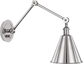 product image for Robert Abbey S2418 Alloy - One Light Wall Sconce, Polished Nickel Finish with Metal Shade