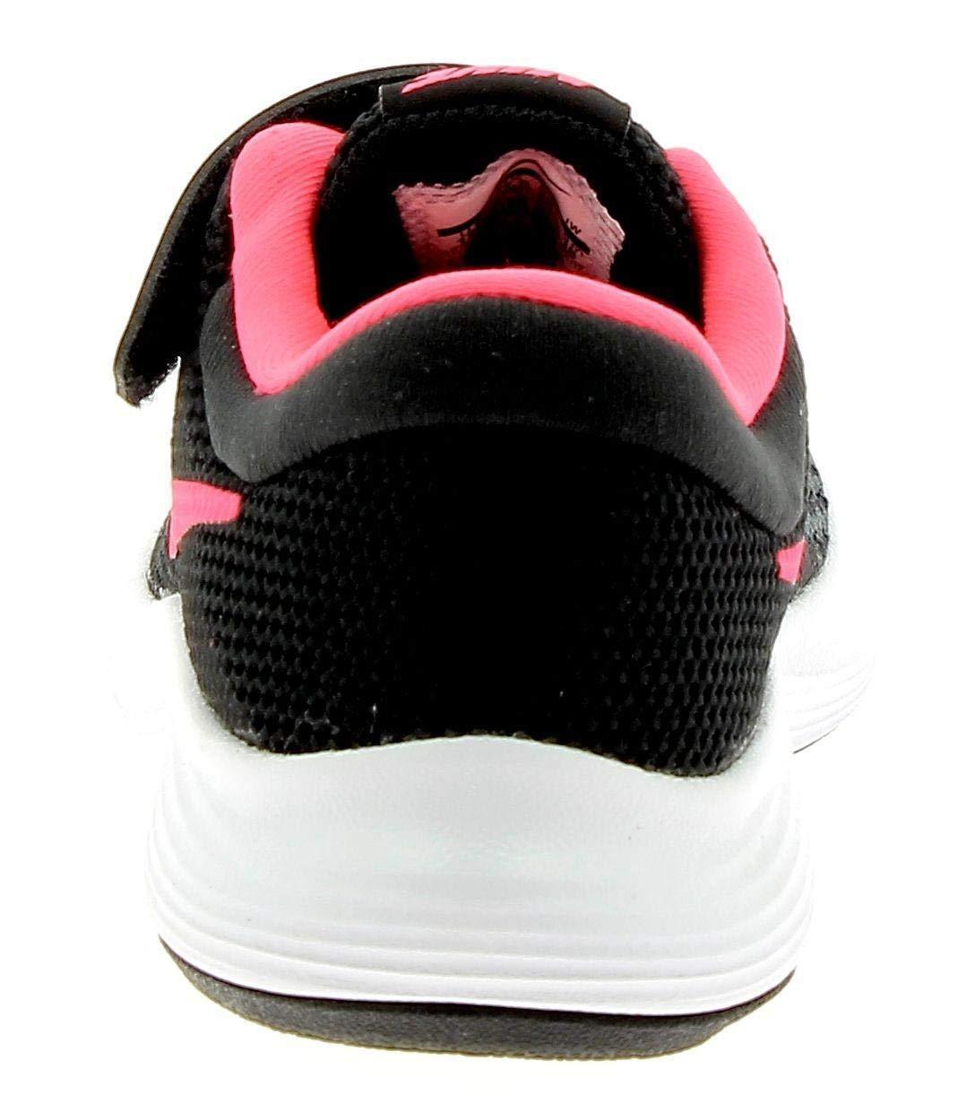 Nike Kids Revolution 4 (PSV) Black Racer Pink White Size 10.5 by Nike (Image #2)