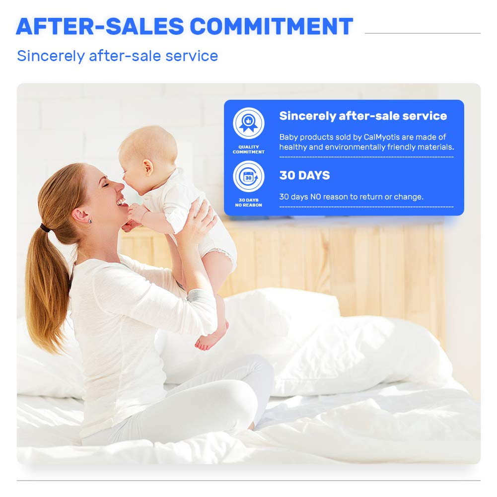 Baby Kamera Halterung von CalMyotis, Universal Baby Monitor Halter,babyphone, Regal Flexible Kamera, Kompatibel mit den meisten Baby Kameras Oder Sprechanlagen (Blau)