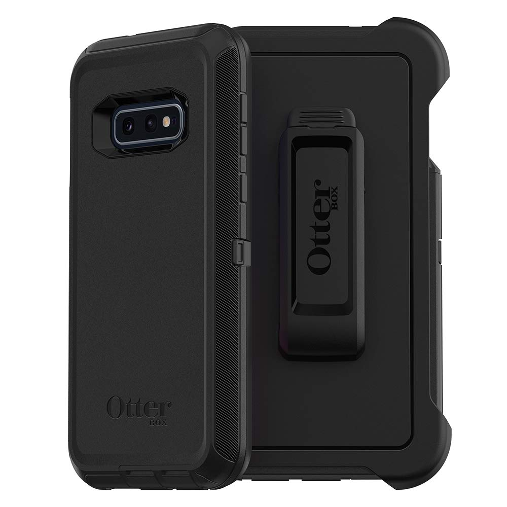 OtterBox DEFENDER SERIES Case for Galaxy S10e - Retail Packaging - BLACK