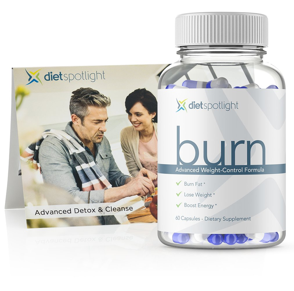 Burn TS FitKit - Weight Loss Formula Metabolism & Energy Booster, Appetite Suppressant, Safe & Effective Thermogenic Supplement (1 Month & 3-Day Detox) by Dietspotlight