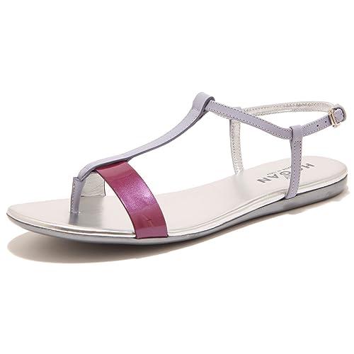 7037F sandalo infradito HOGAN VALENCIA LISTINI scarpa ciabatta donna shoes women