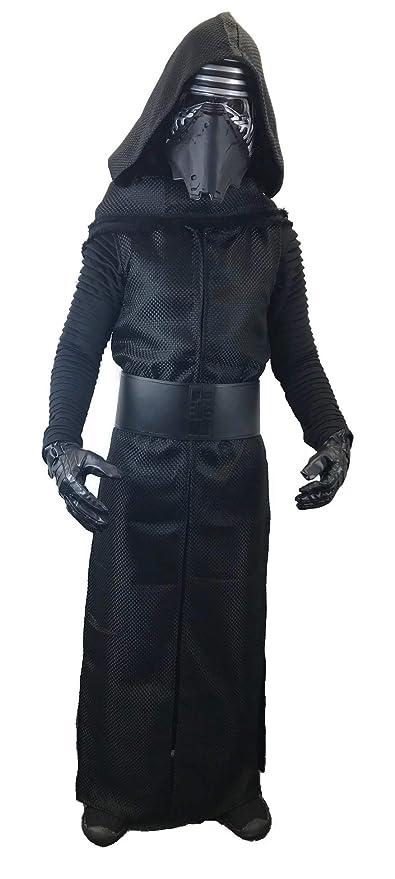 Amazon.com: Disfraz de Kylo Ren estándar Sith con cinturón ...