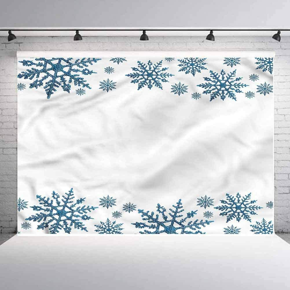 6x6FT Vinyl Photography Backdrop,Snowflake,Hexagons and Lines Retro Background for Selfie Birthday Party Pictures Photo Booth Shoot