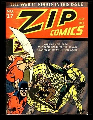 Zip Comics #27: Golden Age Superhero Comic 1942: Kari A
