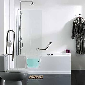 Easy Access Ramona Left Handed Walk In Luxury Shower Bath