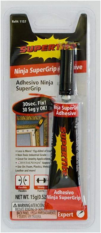 Ref-1157 Ninja SuperGrip Adhesive Gel- 15g (.529) Tube
