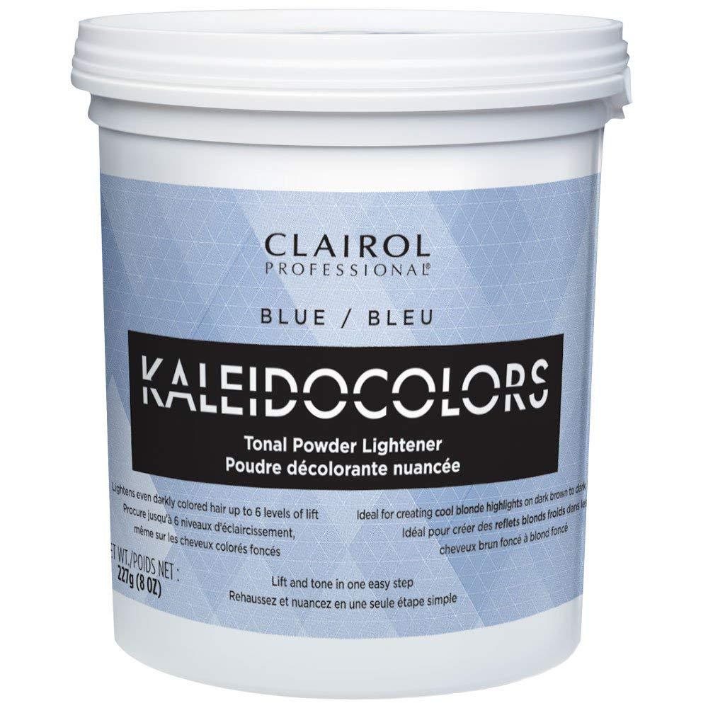 Clairol Professional Kaleidocolors Lightener Hair Color, Blue, 8 Ounce