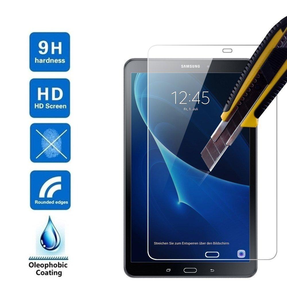 2016 1 X Samsung Galaxy Tab A6 10.1 Zoll Screen Protector T580//T585 Schutzfolie Glas Tempered Glass Hartglas Displayschutz Folie f/ür Samsung Galaxy Tab A6